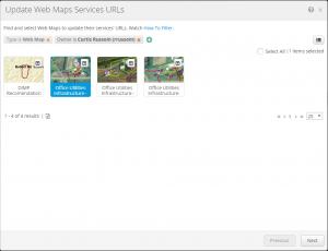Update Web Map Service URLs Tool