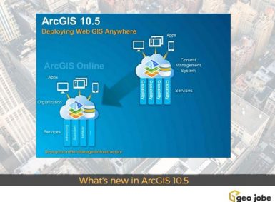 What's new in ArcGIS 10.5
