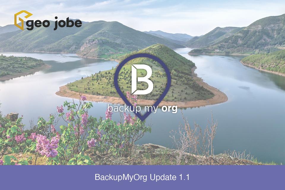 BackupMyOrg Update 1.1