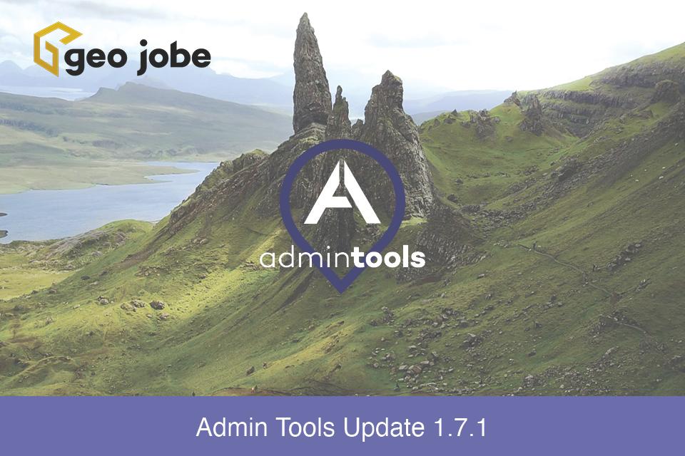 Admin Tools Update 1.7.1