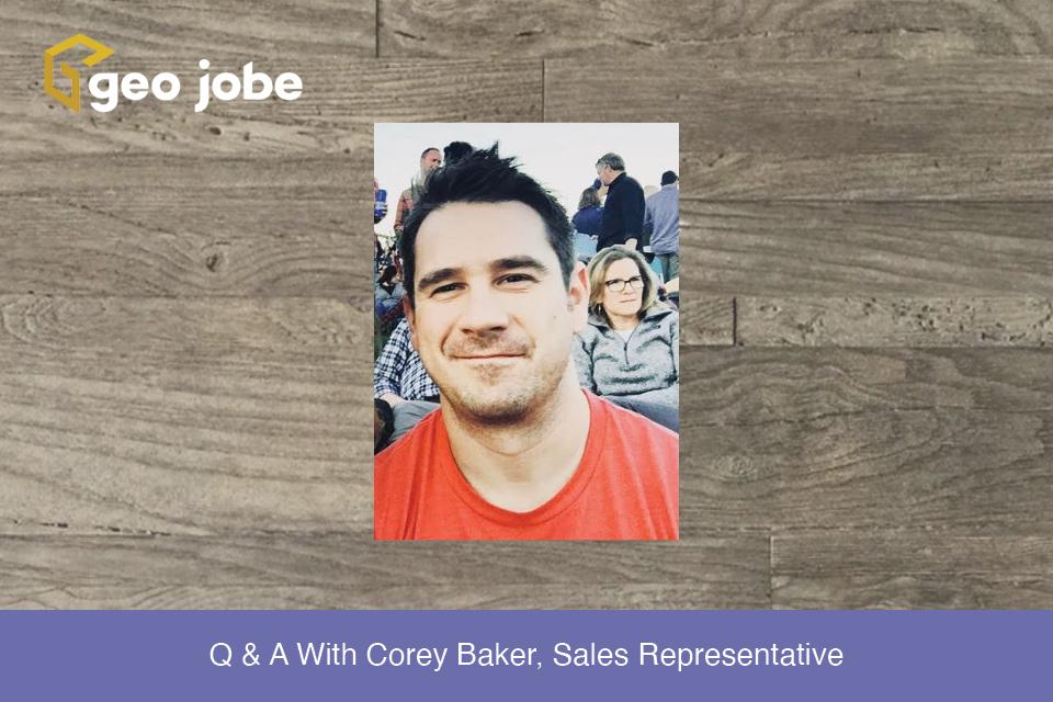 Q & A With Corey Baker, Sales Representative