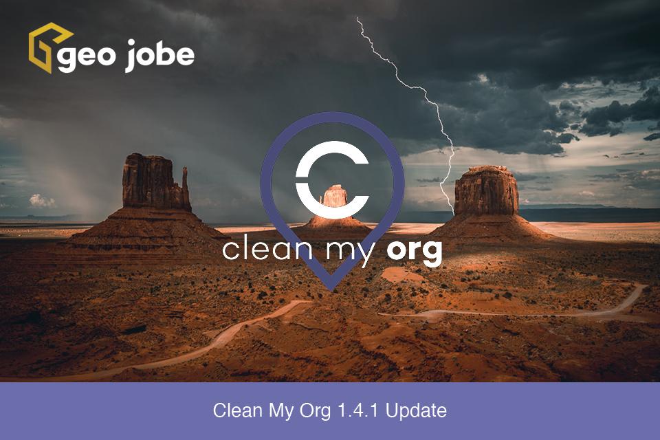 Clean My Org 1.4.1 Update